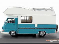 Star Autostar 350 camper anno di costruzione 1979 turchese / verde 1:43 Ixo