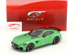 Mercedes-Benz AMG GT-R year 2017 green metallic 1:18 GT-Spirit