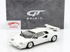 Lamborghini Countach LP500 QV year 1987 white 1:18 GT-Spirit