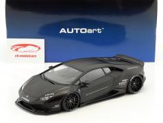 Lamborghini Huracan Liberty Walk LB-Works mattschwarz 1:18 AUTOart