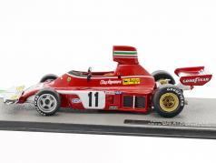 Clay Regazzoni Ferrari 312B3 #11 brasiliano GP formula 1 1975 1:43 Altaya