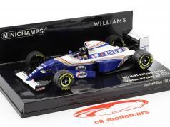 Damon Hill Williams FW16B #0 vincitore giapponese GP formula 1 1994 1:43 Minichamps