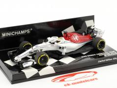 Marcus Ericsson Sauber C37 #9 showcar formula 1 2018 1:43 Minichamps