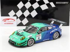 Porsche 911 GT3 R #4 VLN Westfahlenfahrt 2017 Falken Motorsports 1:18 Minichamps