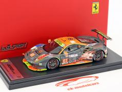 Ferrari 488 GTE #61 5. LMGTE Am klasse 24h LeMans 2017 Clearwater Racing 1:43 LookSmart