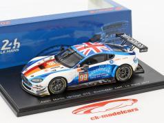 Aston Martin Vantage GTE #99 24h LeMans 2017 Howard, Gunn, Bryant 1:43 Spark