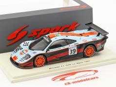 McLaren F1 GTR #39 24h LeMans 1997 Bellm, Gilbert-Scott, Sekiya 1:43 Spark
