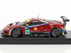 Ferrari 488 GTE #71 5 LMGTE Pro classe 24h LeMans 2017 AF Corse 1:43 LookSmart