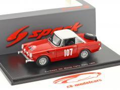 Sunbeam Tiger #107 5th Rallye Monte Carlo 1965 Harper, Hall 1:43 Spark