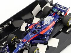 Brendon Hartley Scuderia Toro Rosso STR13 #28 showcar formula 1 2018 1:43 Minichamps
