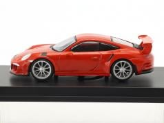 Porsche 911 (991) GT3 RS year 2016 lava orange 1:64 Spark