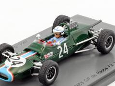 John Surtees Matra MS5 #24 GP de Reims formula 2 1966 1:43 Spark