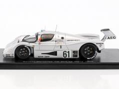 Sauber-Mercedes C9 #61 2nd 24h LeMans 1989 Baldi, Acheson, Brancatelli 1:43 Spark