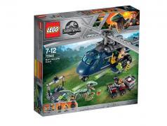 LEGO® Jurassic World™ Blue's Hubschrauber-Verfolgungsjagd