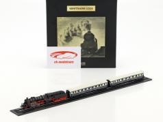 RHEINGOLD train with track black / White / blue 1:220 Atlas