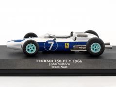 John Surtees Ferrari 158 #7 campione del mondo formula 1 1964 1:43 Atlas