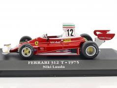 Niki Lauda Ferrari 312T #12 campeão do mundo fórmula 1 1975 1:43 Atlas