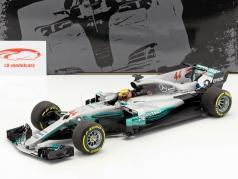 Lewis Hamilton Mercedes F1 W08 EQ Power  #44 World Champion Formel 1 2017 1:18 Minichamps