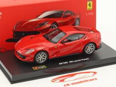 Ferrari 812 Superfast rouge 1:43 Bburago Signature