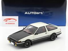 Toyota Sprinter Trueno (AE86) Project D Final Version weiß / schwarz 1:18 AUTOart