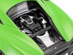 McLaren 570S anno di costruzione 2016 mantis verde con nero ruote 1:18 AUTOart