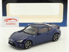 Toyota 86 GT LHD Construction year 2012 blue 1:18 AUTOart