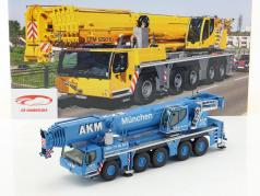 Liebherr LTM 1250-5.1 gru mobile AKM blu / bianco 1:50 NZG