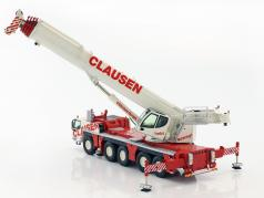 Liebherr LTM 1250-5.1 guindaste móvel Clausen vermelho / branco 1:50 NZG