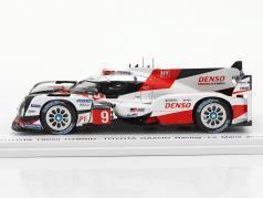 Toyota TS050 Hybrid #9 24h LeMans 2017 Lopez, Lapierre, Kunimoto 1:43 Spark