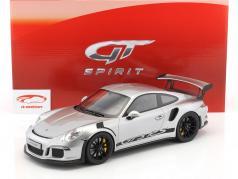 Porsche 911 (991) GT3 RS Construction year 2015 silver 1:12 GT-Spirit