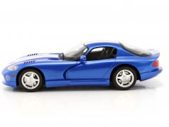 Dodge Viper GTS year 1996 viper blue 1:18 GT-Spirit