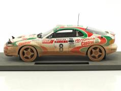 Toyota Celica GT4 Dirty Vision #8 gagnant Rallye San Remo 1994 Auriol, Occelli 1:18 TopMarques