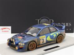 Subaru Impreza S4 WRC Dirty Version #3 3rd Rallye Monte Carlo 1998 McRae, Grist 1:12 TopMarques