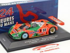 Mazda 787B #55 gagnant 24h LeMans 1991 Weidler, Herbert, Gachot 1:43 Ixo