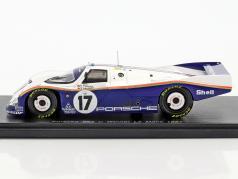 Porsche 962 C #17 Winner 24h LeMans 1987 Bell, Holbert, Stuck 1:43 Spark