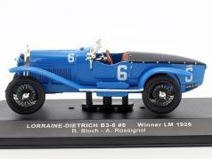 Lorraine-Dietrich B3-6 #6 vencedor 24h LeMans 1926 Bloch, Rossignol 1:43 Ixo