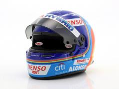 Fernando Alonso Toyota Gazoo Racing Winner 24h LeMans 2018 Helm 1:2 Bell