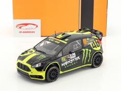 Ford Fiesta RS WRC #46 2 ° Monza Rallye Show 2014 Rossi, Cassina 1:18 Ixo