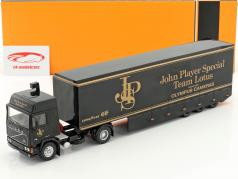 Volvo F12 Racing transporter JPS Team Lotus year 1981 black 1:43 Ixo