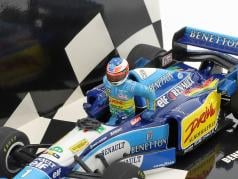 Set figure Michael Schumacher   Benetton B195 #1 World Champion Formel 1 1995 1:43 Minichamps