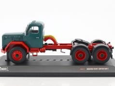 Magirus Jupiter SZM 6x6 dark green / red 1:43 Ixo