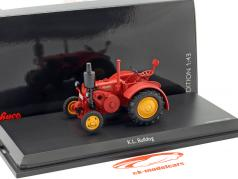 K.L. Bulldog Traktor rot 1:43 Schuco