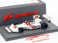 James Hunt Hesketh 308 #24 gagnant néerlandais GP formule 1 1975 1:43 Spark