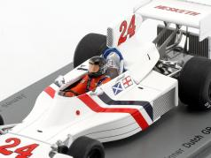 James Hunt Hesketh 308 #24 winner Dutch GP formula 1 1975 1:43 Spark