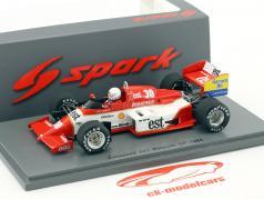 Christian Danner Zakspeed 841 #30 Belgium GP formula 1 1985 1:43 Spark