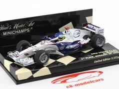 Nick Heidfeld BMW Sauber F1.06 #16 3 Hongrie GP formule 1 2006 1:43 Minichamps