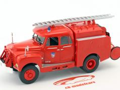 Citroen 46 CD 4x4 fire Department red 1:43 Atlas