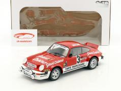 Porsche 911 SC Gr.4 #3 vincitore Rallye D'Armor 1979 Beguin, Lenne 1:18 Solido