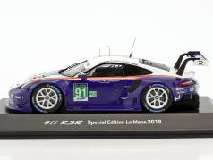 Porsche 911 RSR Rothmans Tribute #91 24h LeMans 2018 Porsche GT Team 1:43 Spark