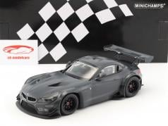 BMW Z4 GT3 E89 carbon Decoration year 2015 dark gray 1:18 Minichamps
